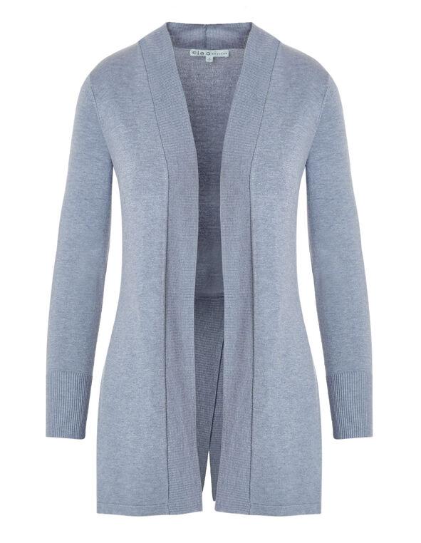 New Blue Long Cardigan, New Blue, hi-res