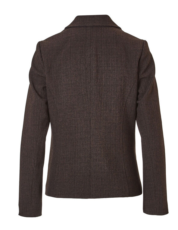 Brown Suiting Blazer, Brown, hi-res