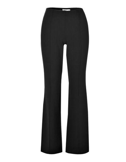 Black Pull-On Trouser Pant, Black, hi-res