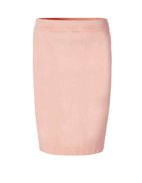 Seashell Cleo Signature Pencil Skirt, Seashell Pink, hi-res
