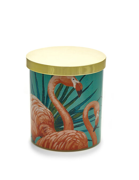 Topical Flamingo Candle, Flamingo, hi-res