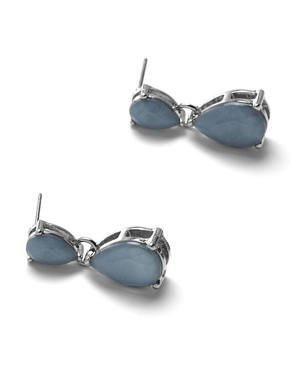 Light Blue Teardrop Earring, Light Blue, hi-res