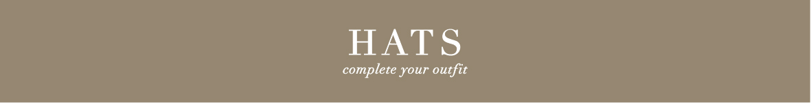 Hats | complete your outfit