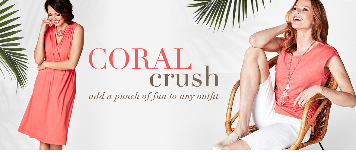 Shade of the season: Coral