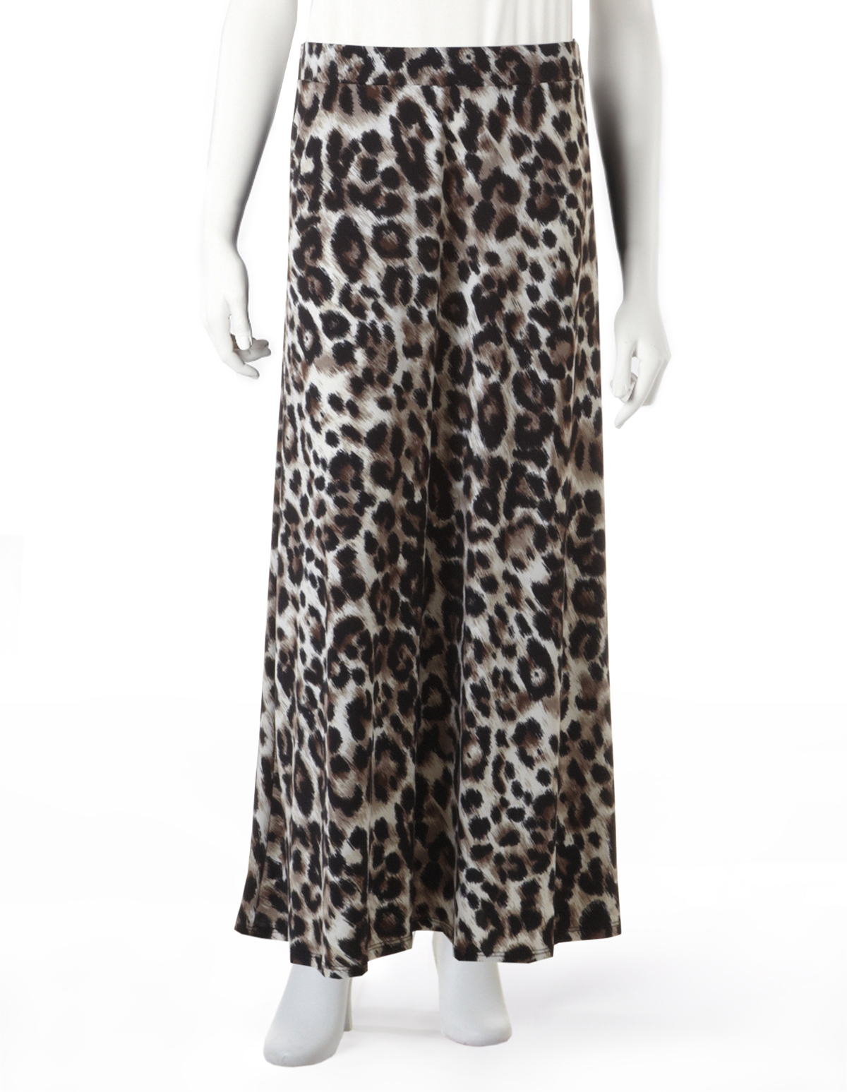 animal print maxi skirt cleo