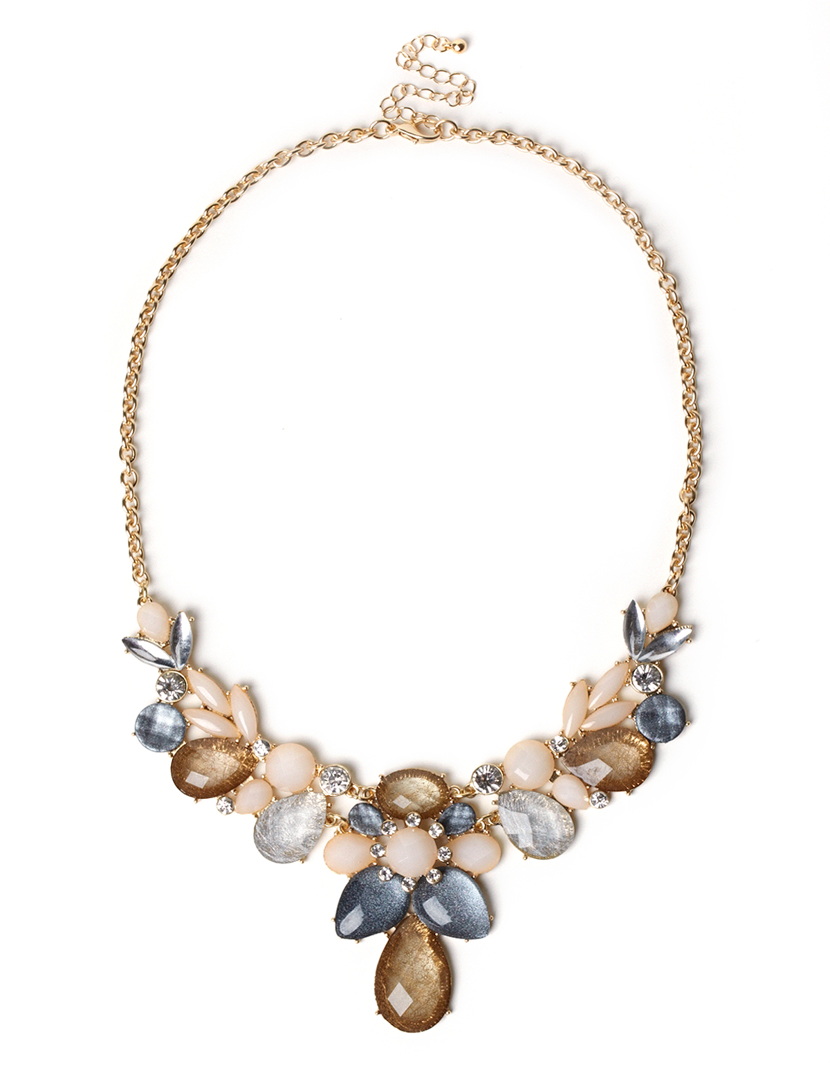 statement us crystal claire s necklace