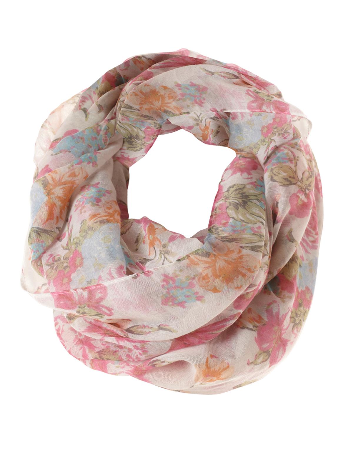 or asp tartan jersey printed fashion loop scarf pink scarves infinity chiffon unisex design p
