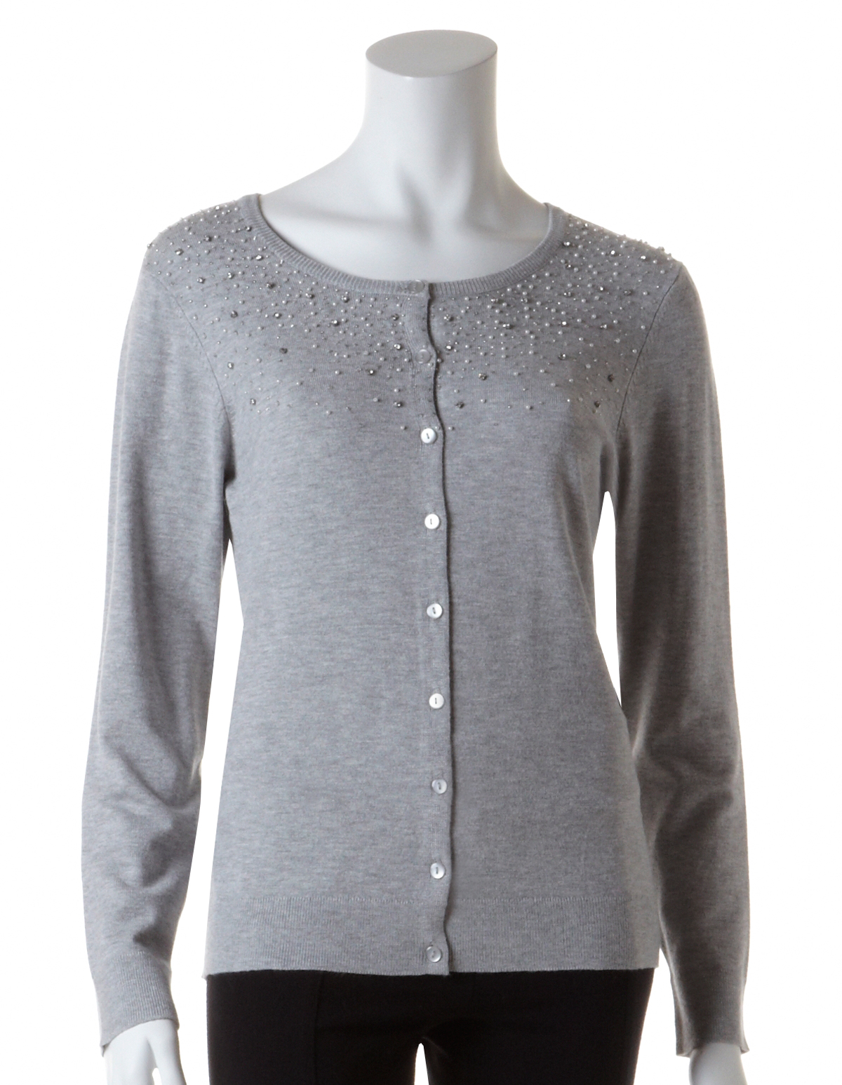 Pearl and Crystal Sparkle Cardigan | Cleo