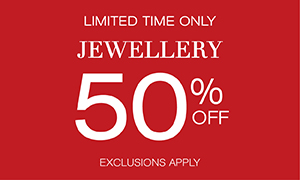 50% off Jewellery