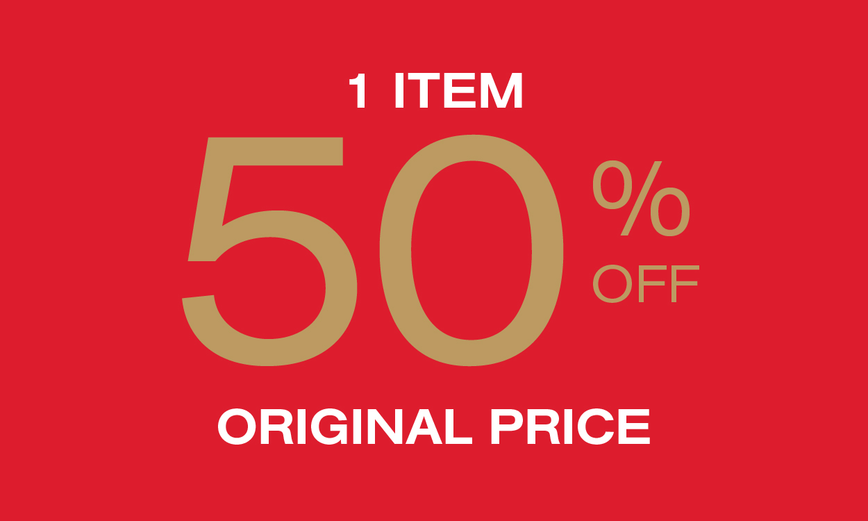 Save Extra 50% off