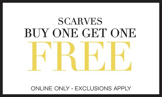Scarves BOGO Free