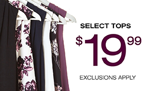 SELECT TOPS $19.99