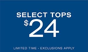 Select Tops $24