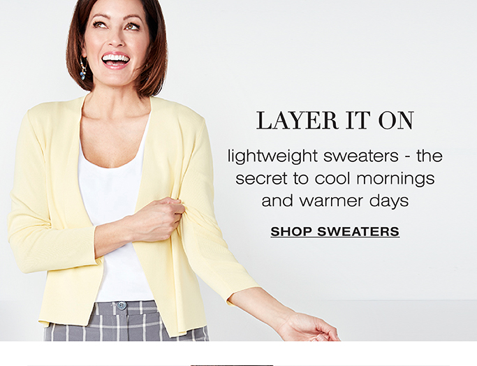 Cleo Sweaters Category Page