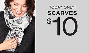 $10 Scarves