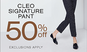 Signature Pants 50% off