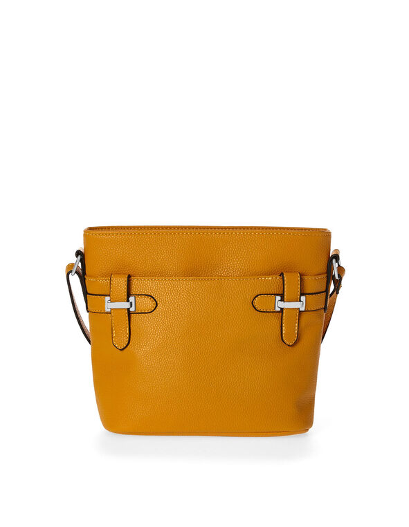 Ochre Crossbody Bag, Yellow, hi-res