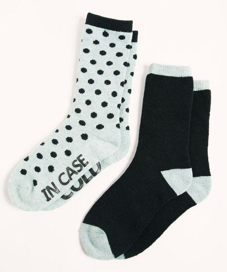 Super Soft Blue Sock 2-Pack, Blue, hi-res