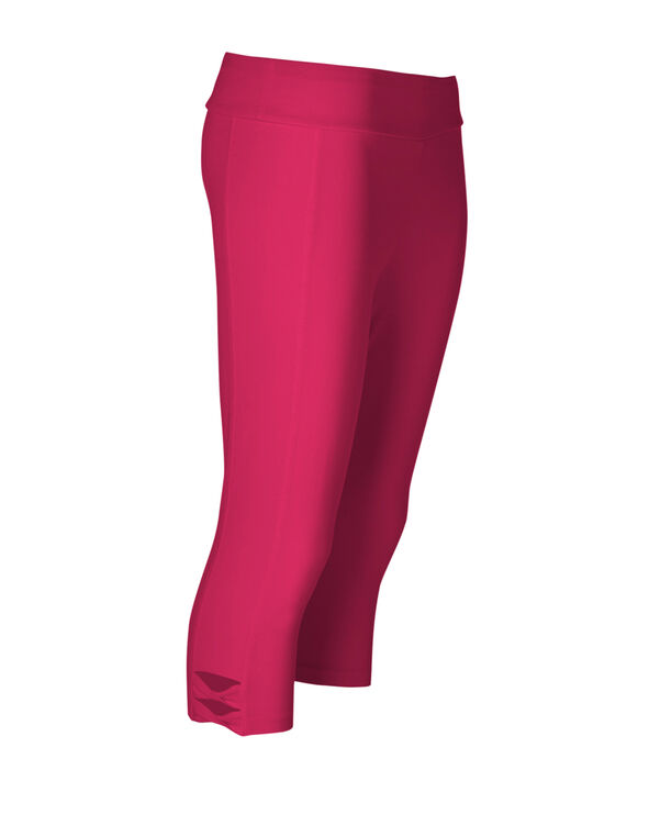 Hot Pink Cotton Skimmer Legging, Hot Pink, hi-res