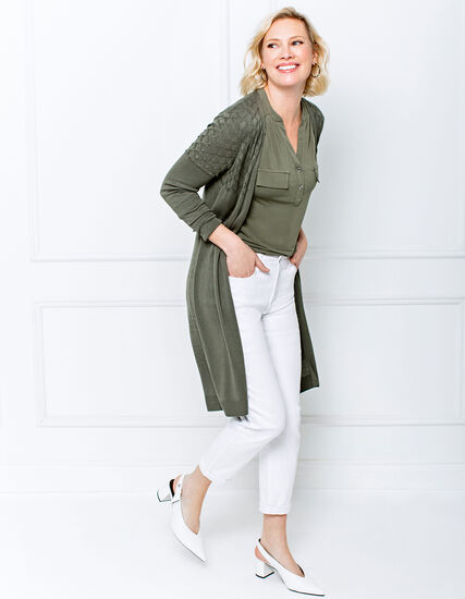 White Ankle Pant Look, , hi-res