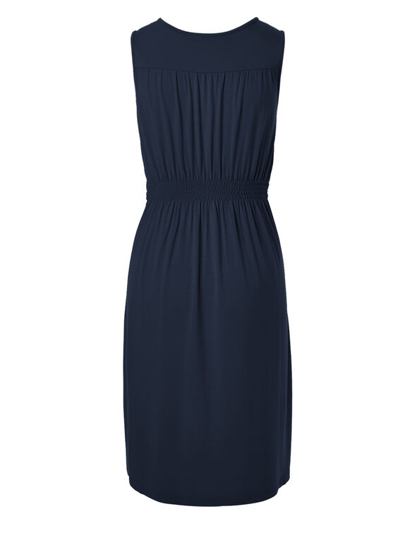 Navy Summer Dress, Navy, hi-res