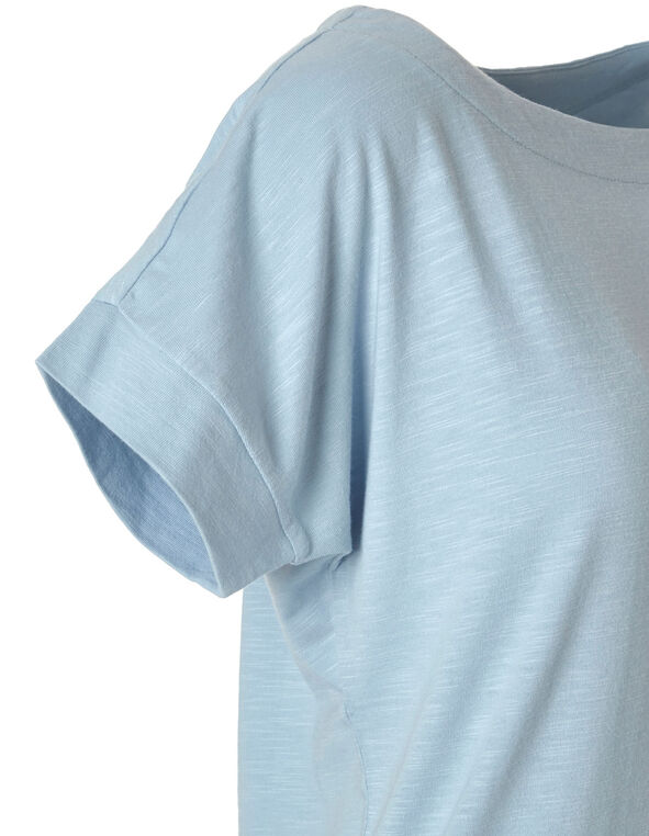 Light Blue Dolman Tee, Lt Blue, hi-res