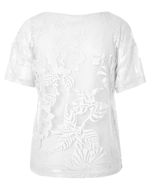 White Burnout Top, White, hi-res