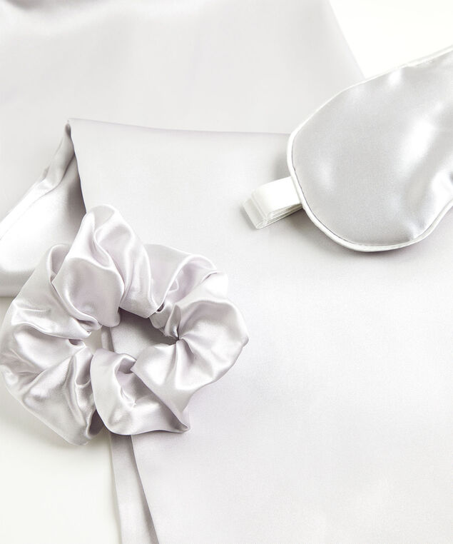 Satin Sleep Set, Silver