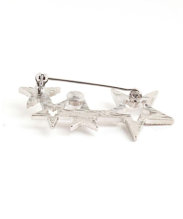 Silver Star Pin, Silver