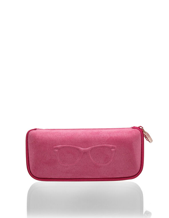 Pink Glasses Case, Pink, hi-res