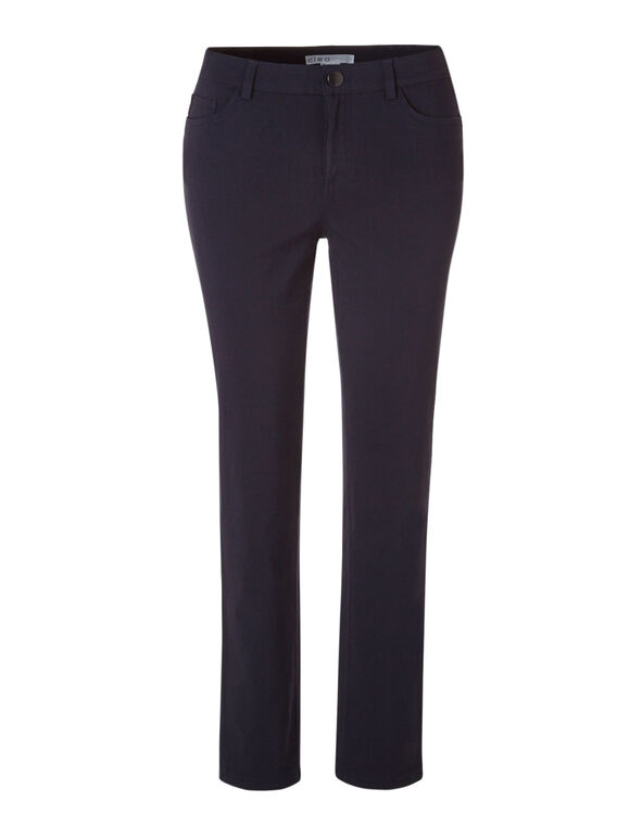 Navy 5 Pocket cleo Signature Pant ®, Navy, hi-res