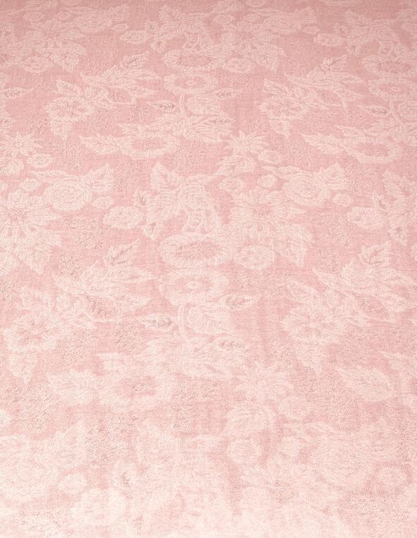 Ballet Pink Lurex Pashmina Scarf, Ballet, hi-res