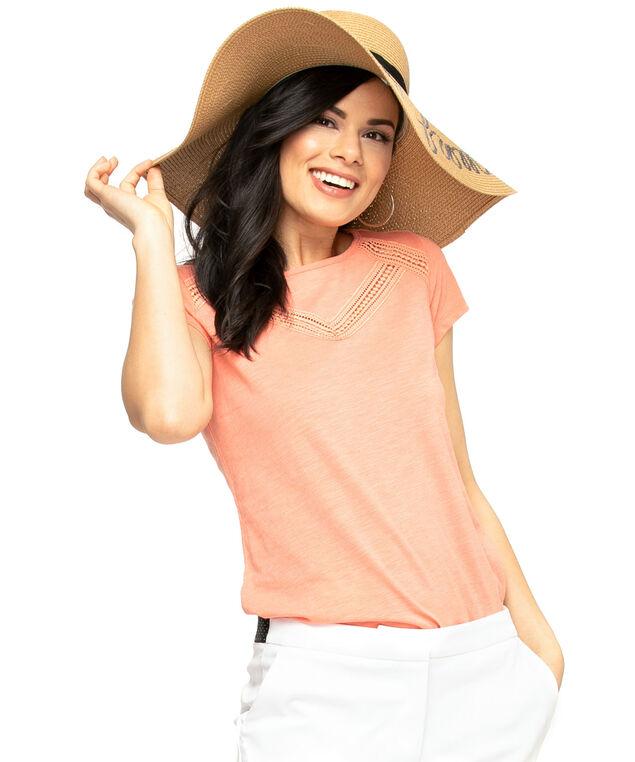 Wide Brim Floppy Hat, Natural