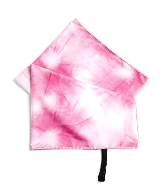 Microfibre Quick Dry Towel, Pink Tie-Dye