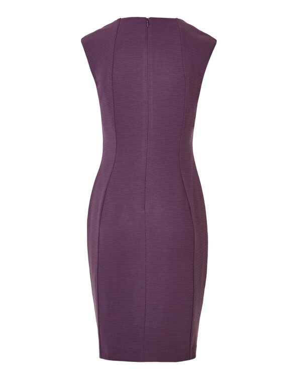 Orchid Ottoman Sheath Dress, Orchid, hi-res