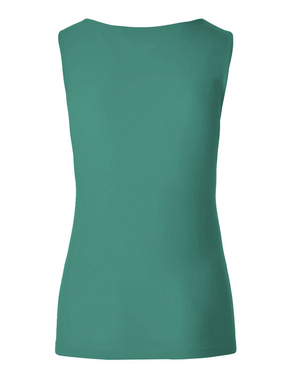 Turquoise Essential Layering Top, Turquoise, hi-res