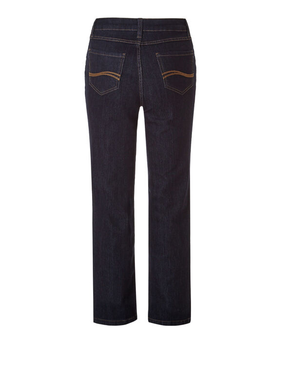 Curvy X-Short Straight Leg Jean, Dark Wash, hi-res
