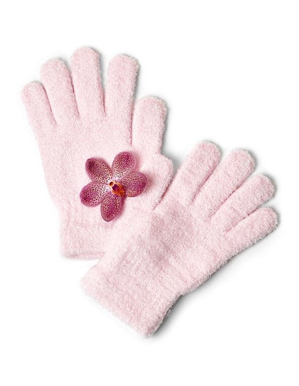 Pink Aloe Infused Gloves, Pink, hi-res