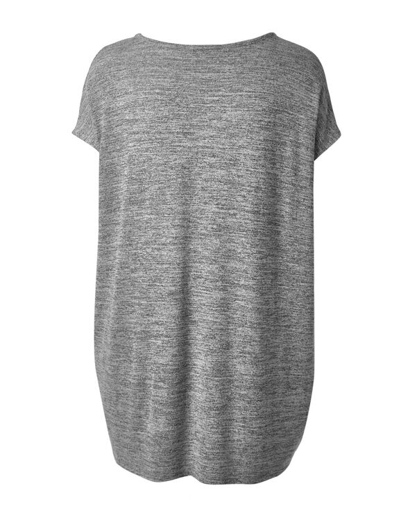 Grey Hacchi Tunic Top, Grey, hi-res