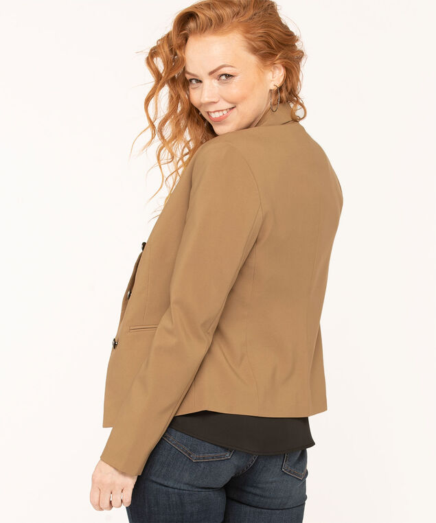 Camel Open Style Blazer, Camel, hi-res