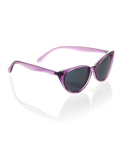 Purple Cat Eye Sunglasses, Purple, hi-res