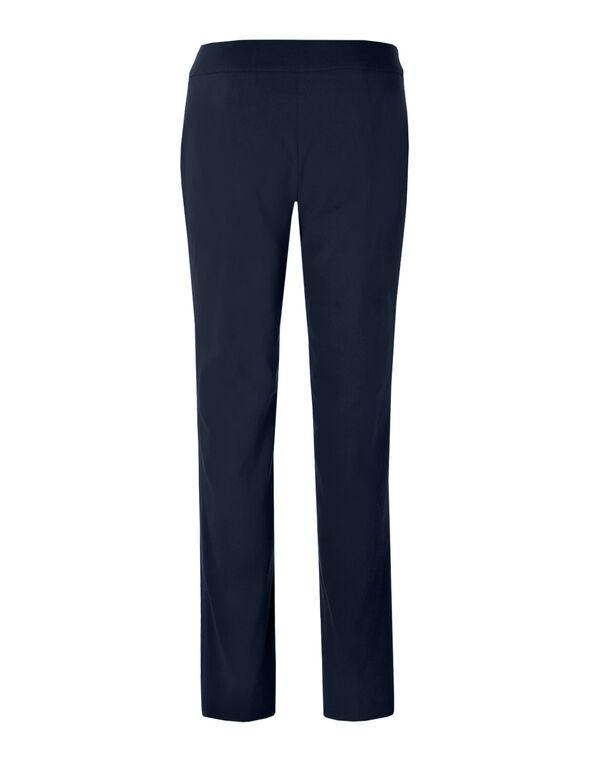 Navy Cleo Signature Slim Leg Pant, Navy, hi-res