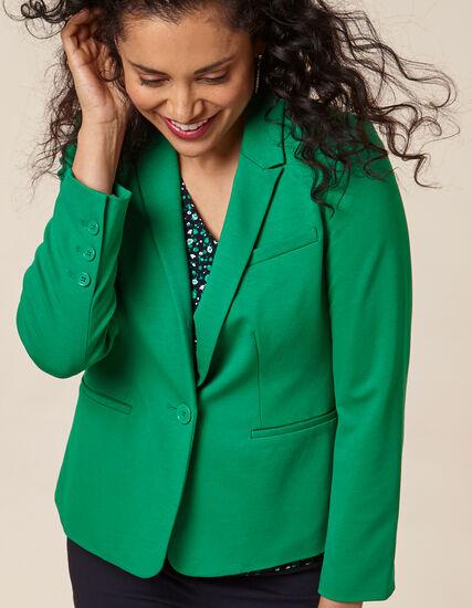 Emerald Blazer, Green/Emerald, hi-res