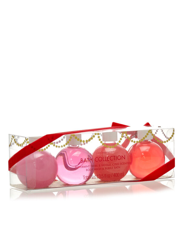 Holly Jollly! Bath Collection, Pink, hi-res