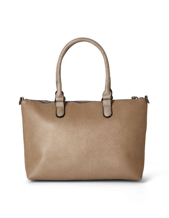 Neutral Tote Handbag, Neutral, hi-res