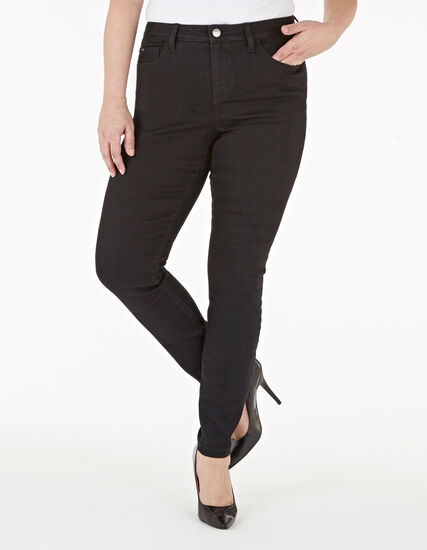Black Skinny Leg Jean, Black, hi-res