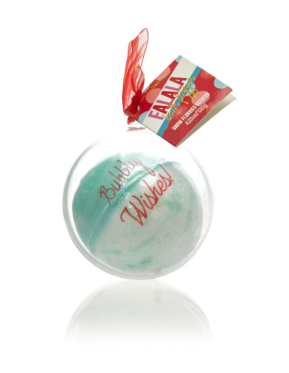 Ornament Bath Fizzer, Teal, hi-res