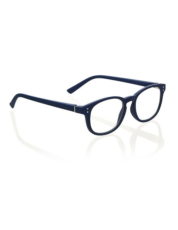 Navy Matte Reader, Navy, hi-res