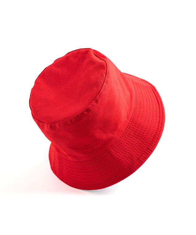 Reversible Bucket Hat, Red