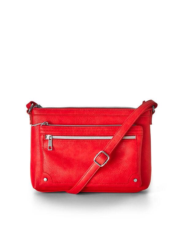 Coral Crossbody Handbag, Coral, hi-res